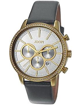 Joop! Damen-Armbanduhr JACKIE Chronograph Quarz Leder JP101712002