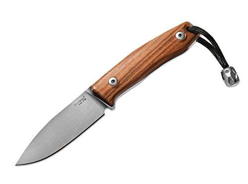 Lionsteel M1 Santos Aviation Couteau Marron, Longueur de la Lame : 7,4 cm, 02ls026