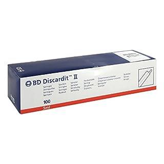 Bd Discardit Ii Spritze 100X5 ml