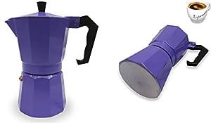 Italian Espresso Stove Top Coffee Maker Pot 1 Cup purple
