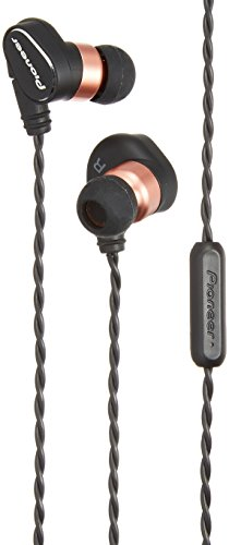Pioneer 1500383 High-Resolution In-Ear Kopfhörer mit Over-the-Ear Kabel-Design und abnehmbaren Kabeln schwarz (Dj Player Pioneer)
