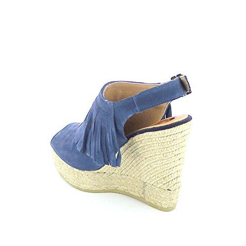 KANNA, Damen Sandalen Blau