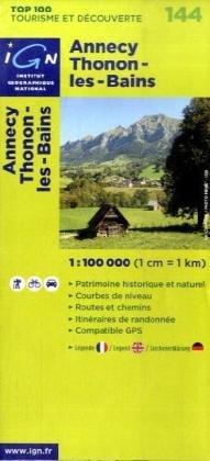 Annecy/Thonon-les-Bains: IGN.V144