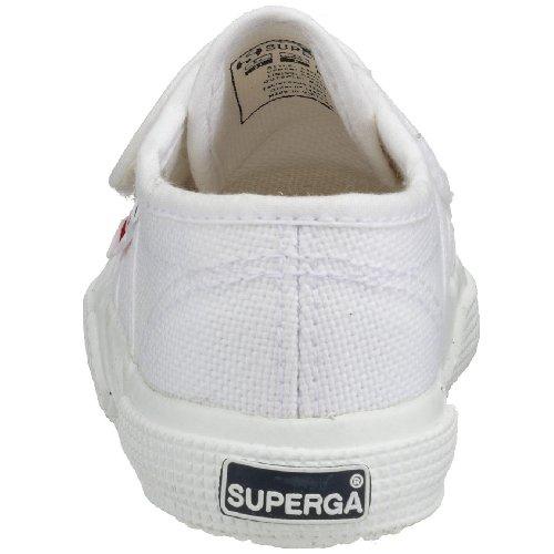Superga 2750 BVEL, Scarpe Unisex Bambini Bianco (901 White)