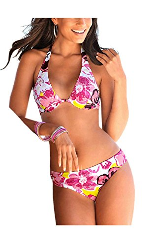 BUFFALO Bügel-Bikini mit Pailletten C-Cup Mehrfarbig Größe 34