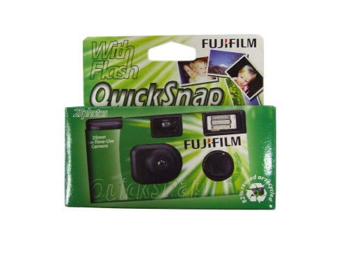 Fuji Superia QuickSnap 27Belichtung Einweg-Kamera
