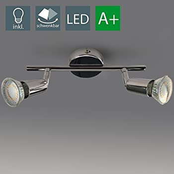 Ikea tross binario con 3 faretti lampadario da soffitto for Ikea luci led