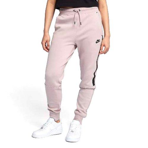 Nike Damen Trainingshose NSW Tech Fleece OG, Partikel Rosa/Schwarz, M, 683800-684