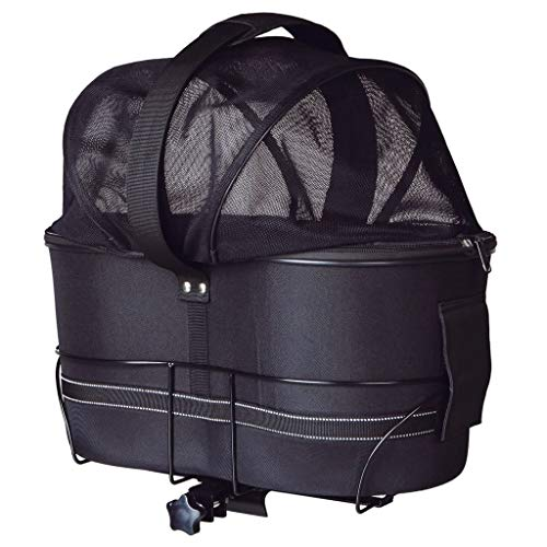 Trixie 13110 Fahrradkorb Long für breite Gepäckträger