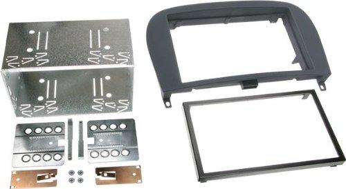 ACV 391190-25 2-DIN Rb Rubber Touch, Schwarz