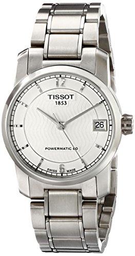 Tissot donna T0872074403700t-classic Analog display Swiss orologio automatico argento