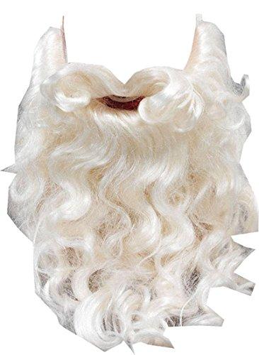 Weihnachten Weihnachtsmann Kostüm Zubehör Falsch Gesichtsbehaarung Weihnachtsmann Bart 25.4cm