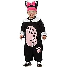 Atosa  - Disfraz de gatita bebé talla 0-6 meses