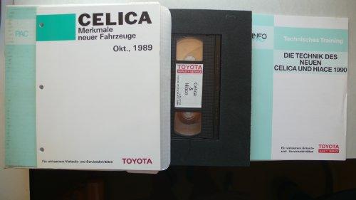 Toyota Celica/Hiace – Die Technik des neuen Celica und Hiace 1990 + VHS – Video, Laufzeit 33:40 min (Toyota Celica 1990)