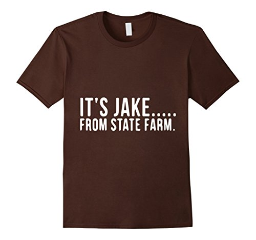 tee-cabin-funny-its-jake-from-state-farm-t-shirt-herren-grosse-m-braun