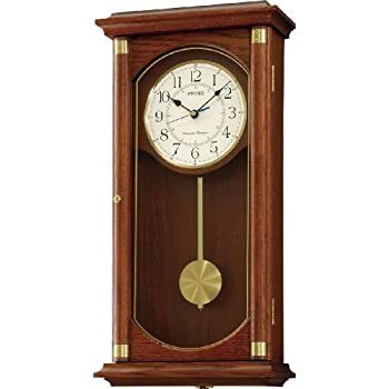 Seiko QuartzBattery Wooden Wall Clock with Westminster
