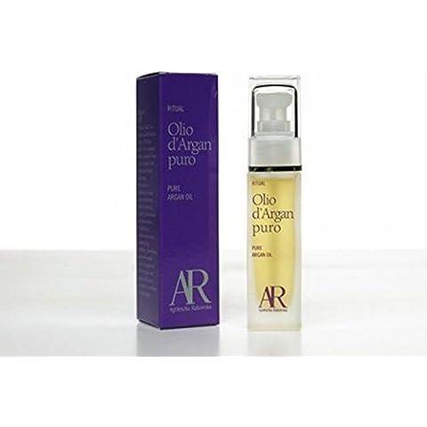AR NaturalBio Aceite de argán - Para cabello, cara, piel y cuerpo - Aceite marroquí de argán orgánico y prensado en frío 100 % puro y certificado - ml.