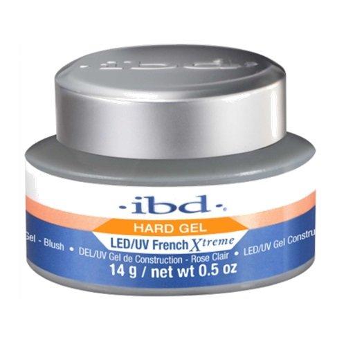 ibd French Xtreme LED/UV Gels - Blush - 0.5oz (Blush Xtreme Gel)
