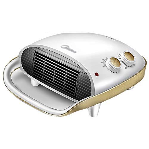Heizung Haushaltsheizung Badezimmer Mini-Elektroheizung Wand-Büroheizung Energieeinsparung (Color : Weiß, Size : 35 * 28 * 12.5cm)