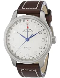 Zeno Watch Basel Men's Automatic Watch New Classic 9554Z-e2 with Leather Strap