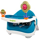 Baybee 2 in 1 Premium Quality Baby Booster Seat Chair with 3 Point Safety Harness (Blue/White)