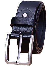 f2dbdfe0154 Modesty Ceinture pour homme en cuir avec boucle d ardillon ceinture exquis  ceinture chic