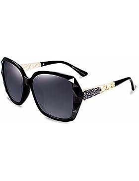 LXKMTYJ Elegantes Gafas De Bastidor Grande Sra. Marea Coreano Gafas De Sol, Negro