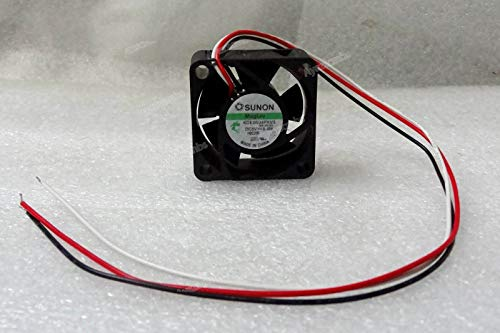 5 Lead Wire (Ayazscmbs Kühler Lüfter kompatibel für Sunon 40mm x 20mm Maglev Lüfter 5V DC 3 Wire Bare Leads Vapo 40x20mm KDE0504PKV3)
