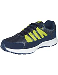 Campus Mens Blue Green Colour 3G8231 Series Synthetic And Nylon Mesh Sport Shoes