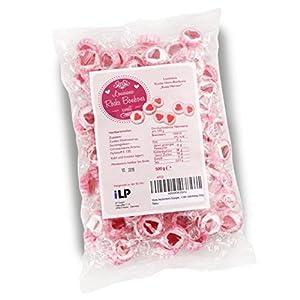 WeddingTree Caramelos Corazón Rosa para