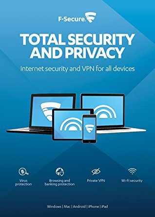 F-SECURE Total Security and Privacy 1year(s) Multilingual lowest price