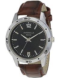 Antonella Rossi Analog Black Dial Unisex's Watch-LB190349