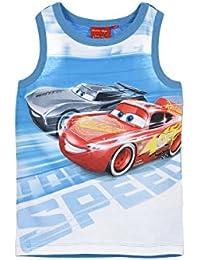 Disney Camiseta de Tirantes - Para Niño Azul Azul 3 Años
