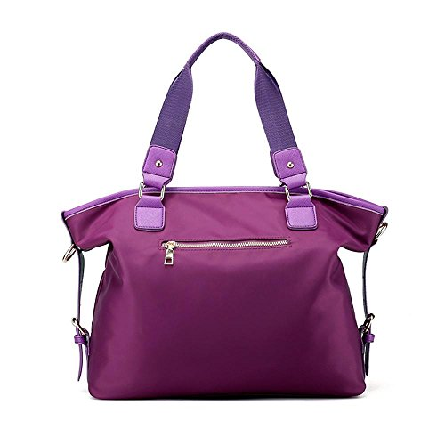 Borsa in tela Lady Travel Nylon Oxford Rendezvous Borsa inclinata Purple