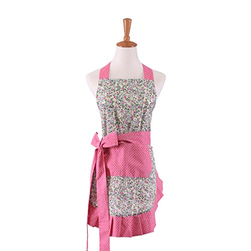 MEICHEN Grembiule da cucina olio repellente Princess Hotel lavoro grembiuli impermeabili di vestiti carina creativo mobili , style 2 , 53x74cm