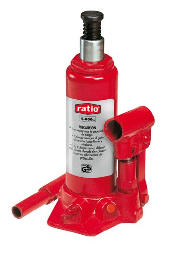 Ratio 7358H2 - Gato hidráulico de botella 2 Toneladas de elevación Ratio
