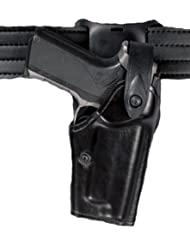 Safariland 6285Nivel II SLS Retención Deber Holster, 1.50-inch gota de cinturón, negro, STX Tactical, Glock 19(mano derecha)