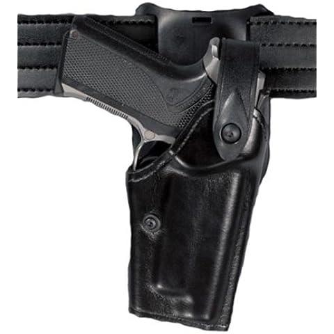 Safariland 6285 Ii livello Sls Retention Duty fondina, cintura, 1,5 cm, nero, Stx Tactical, Glock 19 (mano