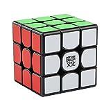 Professionnel Speed Cube,Roxenda Weilong GTS 3x3x3 Vitesse Cube de Magique Spécial Compétition Ultra Rapide Edition; Autocollant Spin Lisse Super Durable avec des Couleurs Vives pour; Facile à Tourner et à Lisser