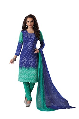 RK Fashion Womens Cotton Un-Stitched Salwar Suit Dupatta Material | Cotton Dress Material | Chiffon Dress Material | Salwar Suite | Designer Salwar Suite | Salwar Suite Dress Material -(Mittal-Ambika-