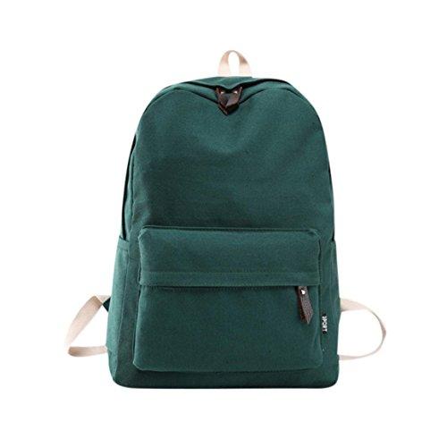 Moonuy Frauen Umhängetasche Mode Mädchen Reißverschluss Leinwand Preppy Bookbags Hochwertige Schule Reisetasche Rucksack