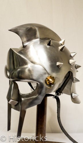 Gladiator Maximus Helmet with fitted liner by Historicks