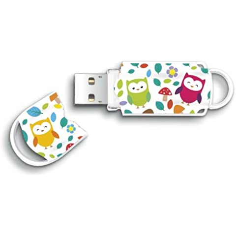 Integral Europe Xpression - Memoria USB de 16 GB, multicolor
