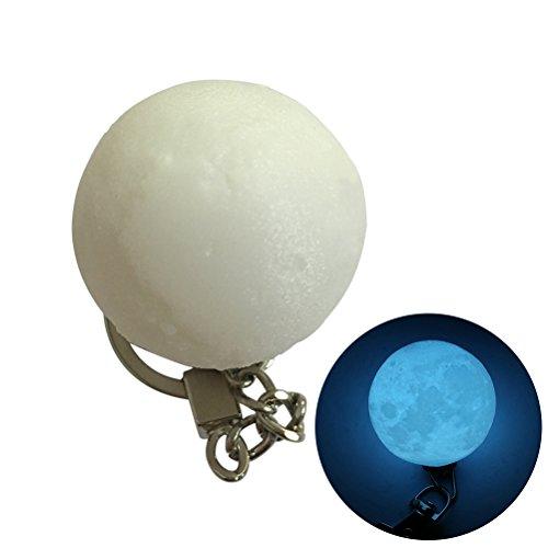LEDMOMO LED Moon Light Keychain Portable