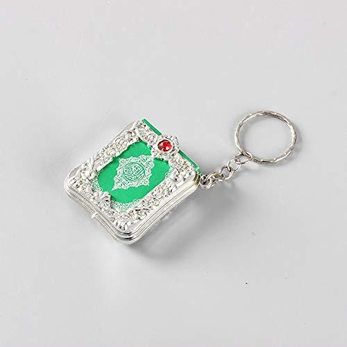 LC-Keychains Super Schlüsselanhänger arabischer Koran Buch Mini Anhänger Schlüsselanhänger, Tasche, Auto hängend, Geburtstagsgeschenk