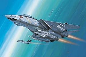 Revell-F-14D Super Tomcat avión de Combate, Kit de Modelo, Escala 1:144 (4049) (04049)