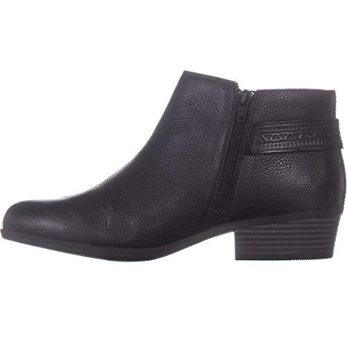 Kara Pumps Rund Leder Fashion Stiefel Schwarz Groesse 9.5 US /41 EU ()
