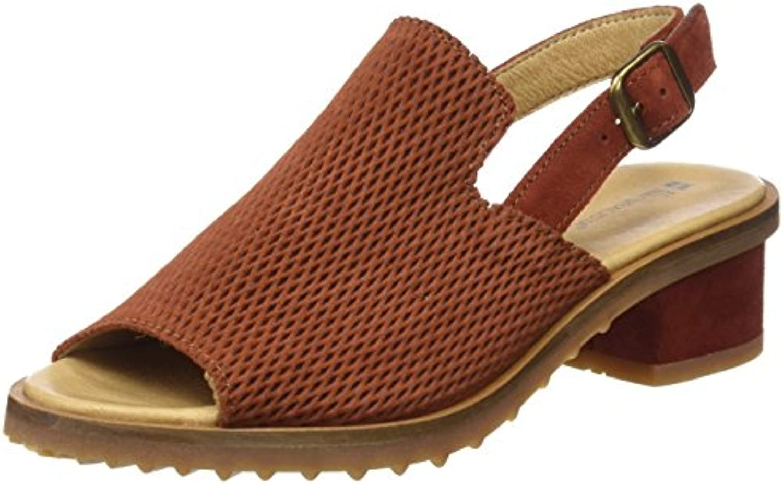 El Naturalista N5014, Zapatos de Tacón con Punta Abierta para Mujer