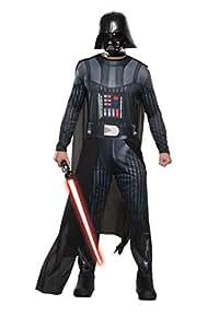 Generique - Star Wars-Darth Vader Kostüm für Halloween und Karneval schwarz M / L
