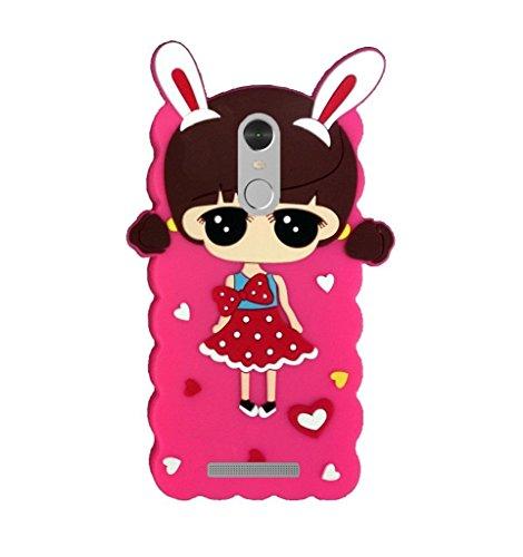 Back Cover For MI REDMI NOTE 3 By 4 SEASON Cute Girl Kitty Rubberised Back Case Cover For MI REDMI NOTE 3